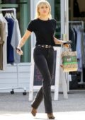 Miley Cyrus seen for the first time following her divorce from Liam Hemsworth being finalized, Los Feliz, California