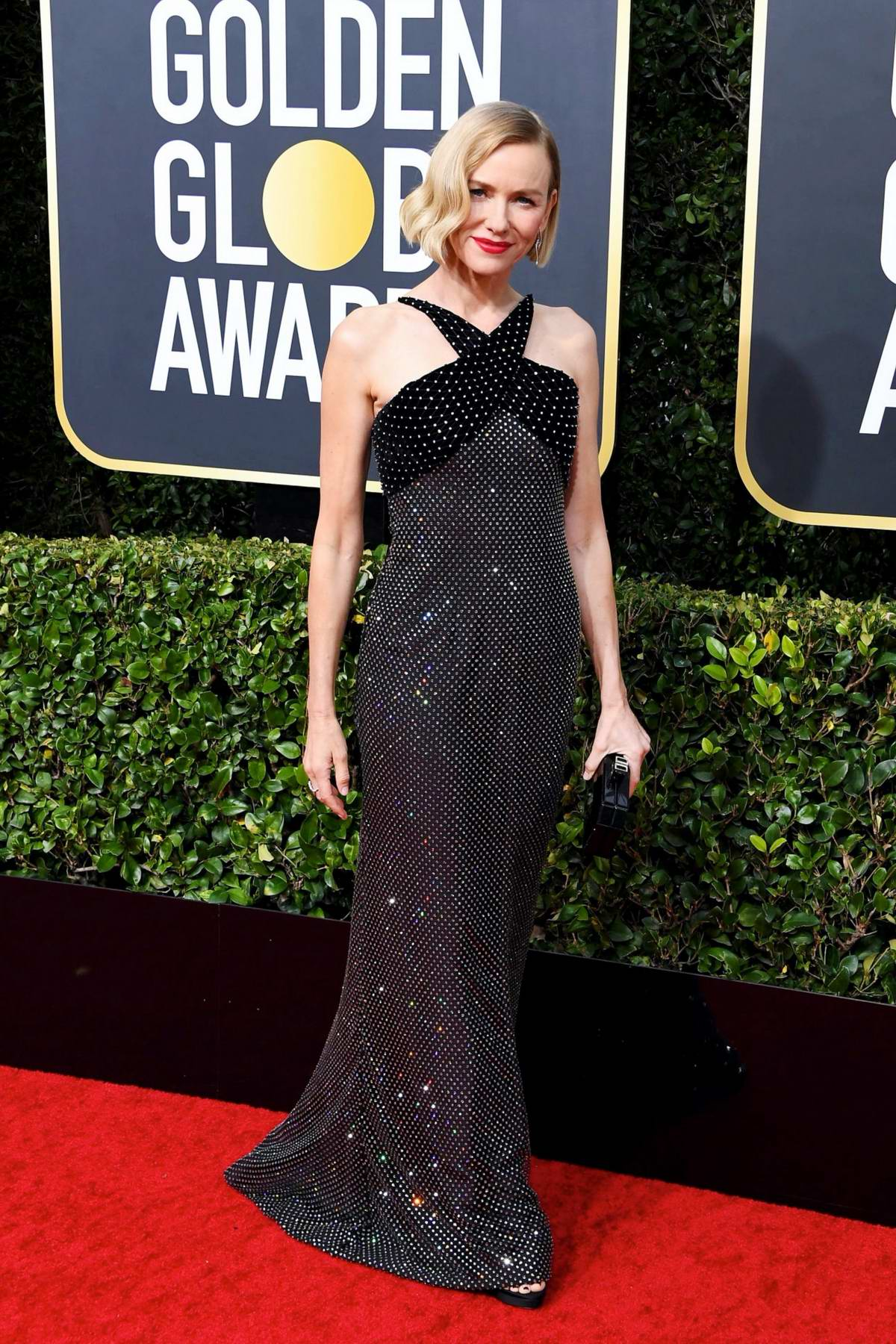 Naomi Watts attends the 77th Annual Golden Globe Awards at The Beverly Hilton Hotel in Beverly Hills, California