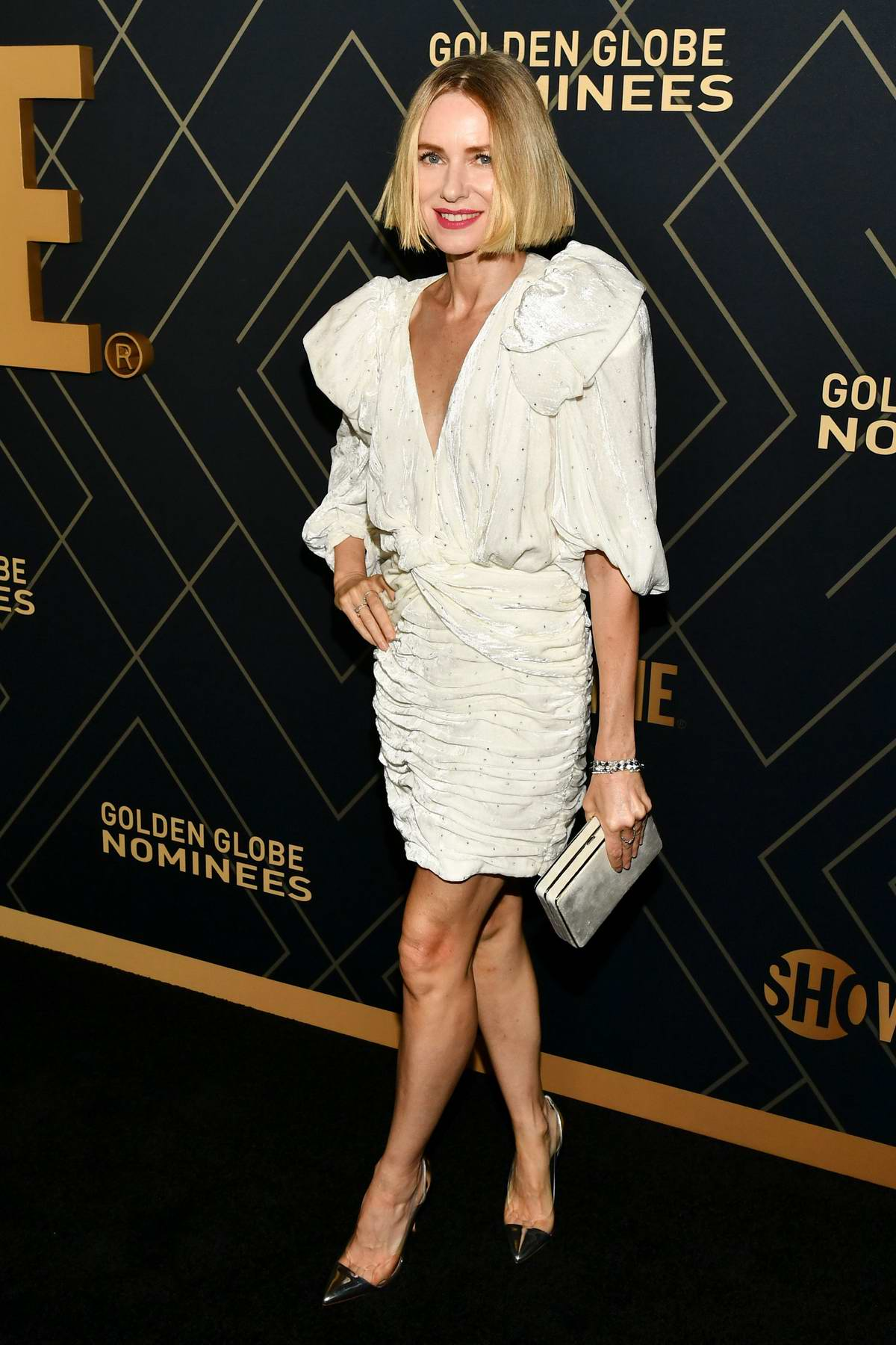 Naomi Watts attends the Showtime Golden Globe Nominees Celebration in Los Angeles