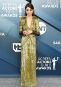 Natalia Dyer attends the 26th Annual Screen Actors Guild Awards at the Shrine Auditorium in Los Angeles
