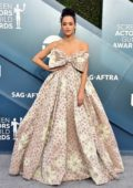 Nathalie Emmanuel attends the 26th Annual Screen Actors Guild Awards at the Shrine Auditorium in Los Angeles