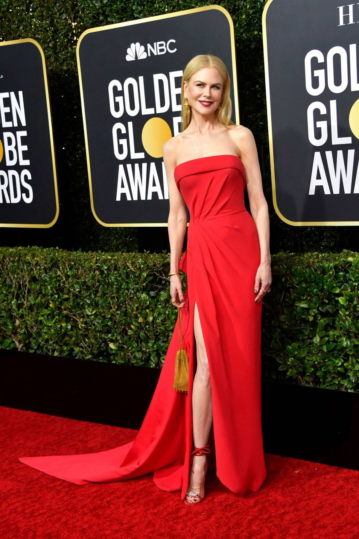 Nicole Kidman attends the 77th Annual Golden Globe Awards at The Beverly Hilton Hotel in Beverly Hills, California