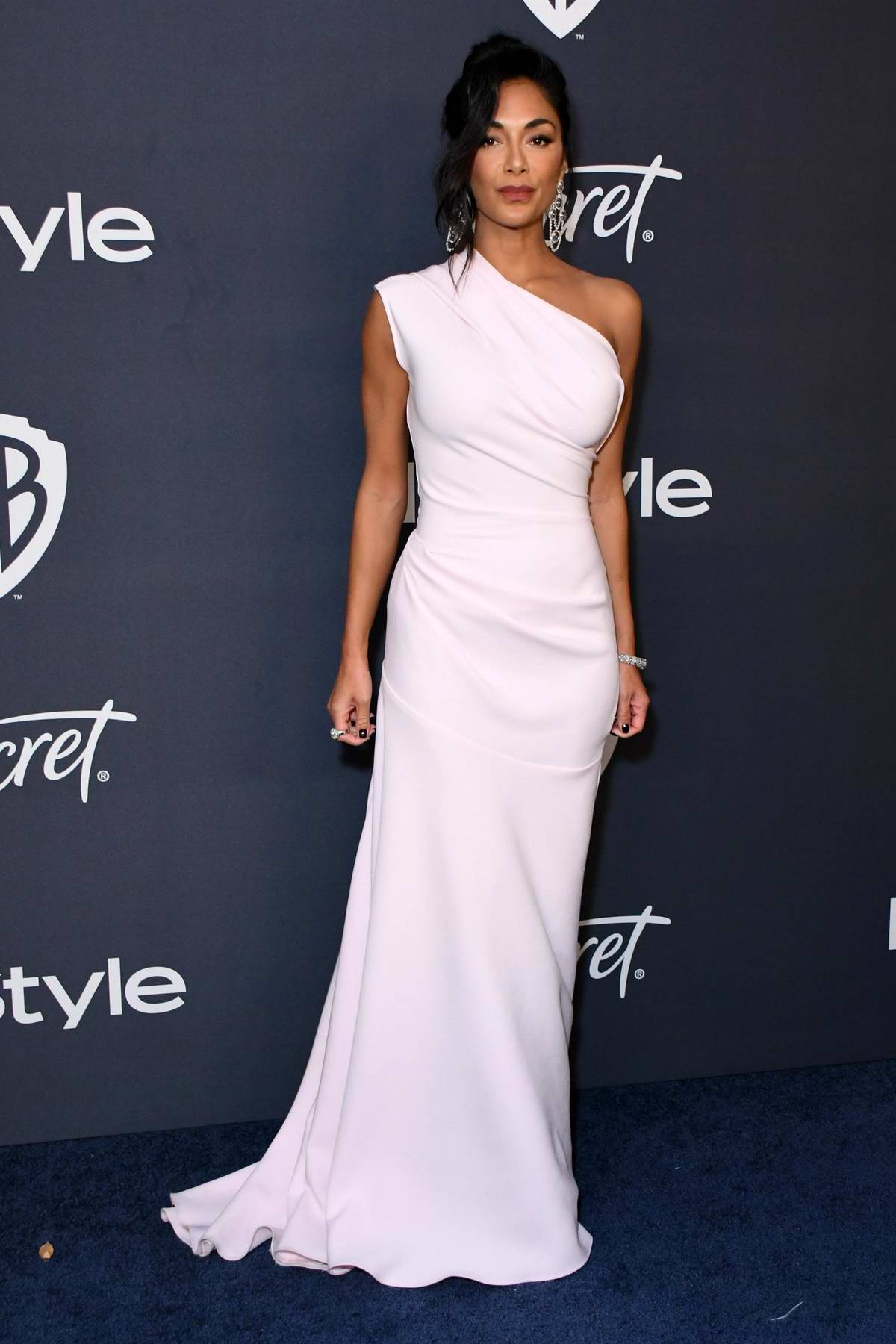 Nicole Scherzinger attends the 21st annual Warner Bros and InStyle Golden Globe After-Party in Beverly Hills, California