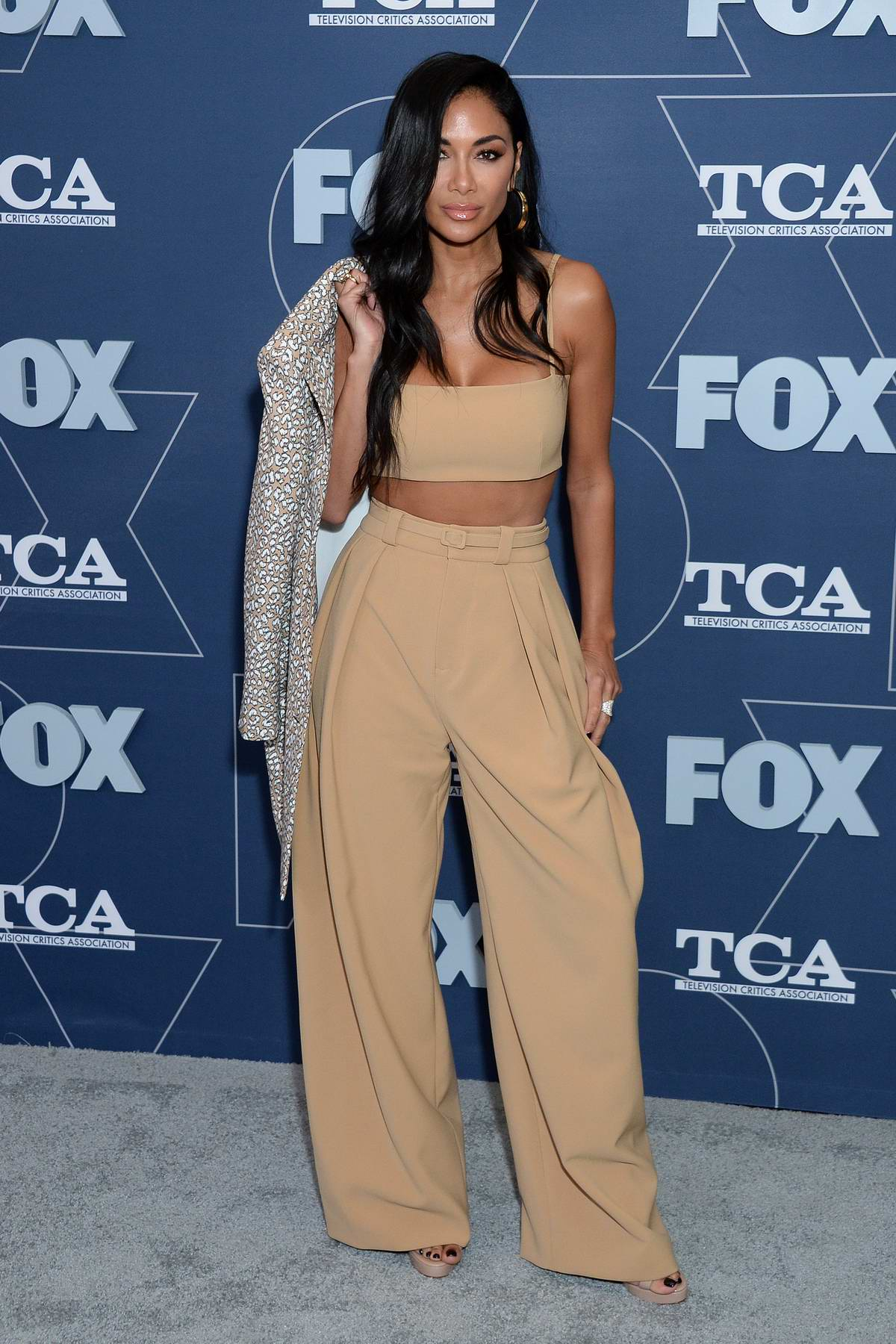 Nicole Scherzinger attends the Fox TCA Winter 2020 Press Tour and All-Star Party at The Langham in Pasadena, California