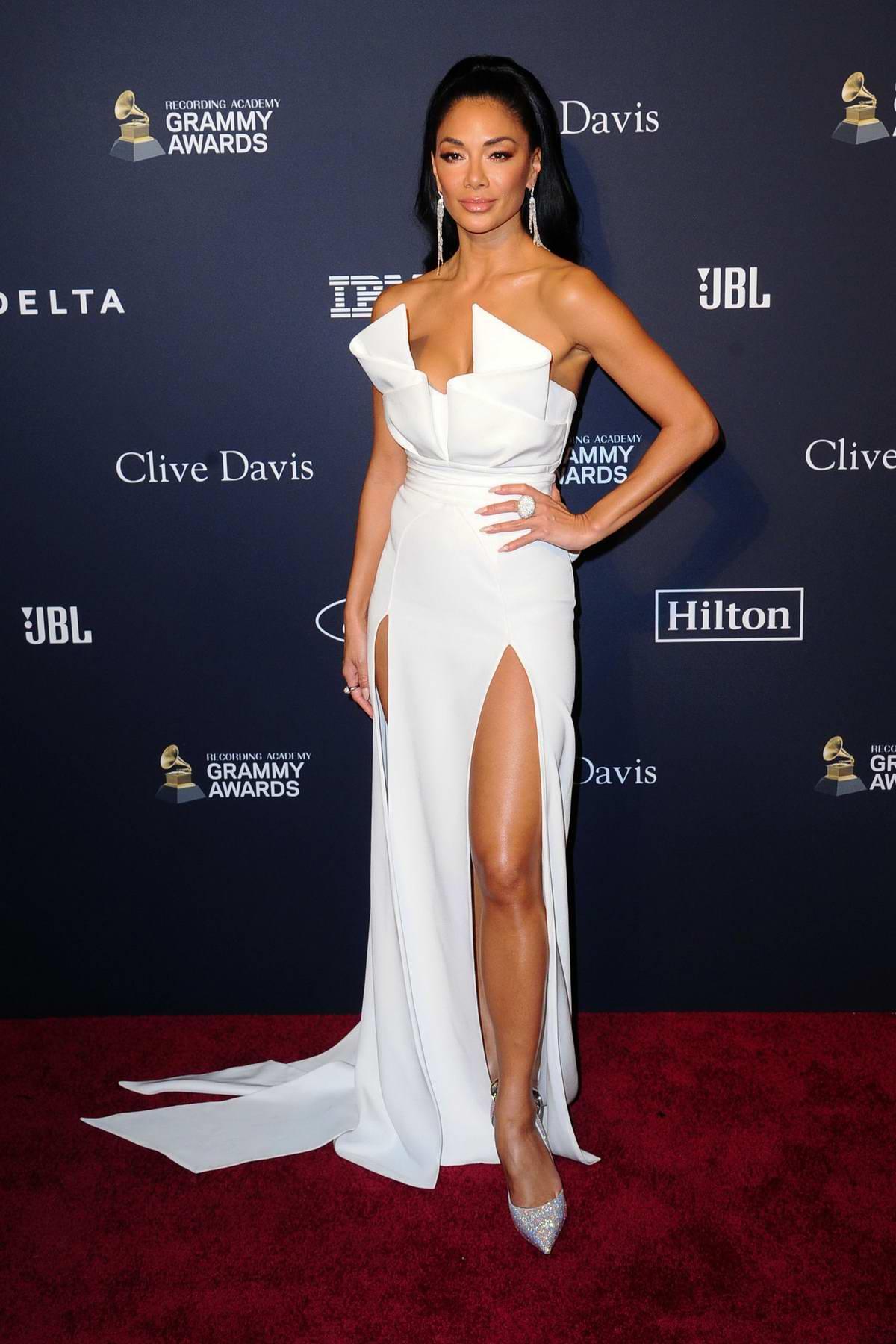 Nicole Scherzinger attends the Recording Academy and Clive Davis Pre-Grammy Gala in Beverly Hills, California
