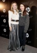 Olivia Wilde and Margaret Qualley at the Premiere 'Wake Up' during the 2020 Sundance Film Festival in Park City, Utah