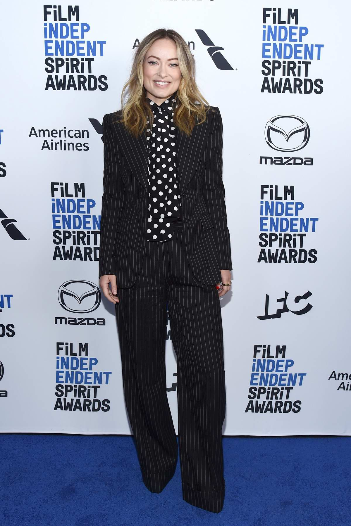 Olivia Wilde attends the 2020 Film Independent Spirit Awards Nominees Brunch in West Hollywood, California