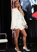Paris Hilton attends Youtube Winter TCA 2020 Presentation at The Langham in Pasadena, California