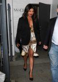 Priyanka Chopra seen leaving Meche Salon in Beverly Hills, California