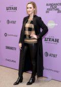 Rachel Brosnahan attends 'Ironbark' Premiere during the 2020 Sundance Film Festival in Park City, Utah