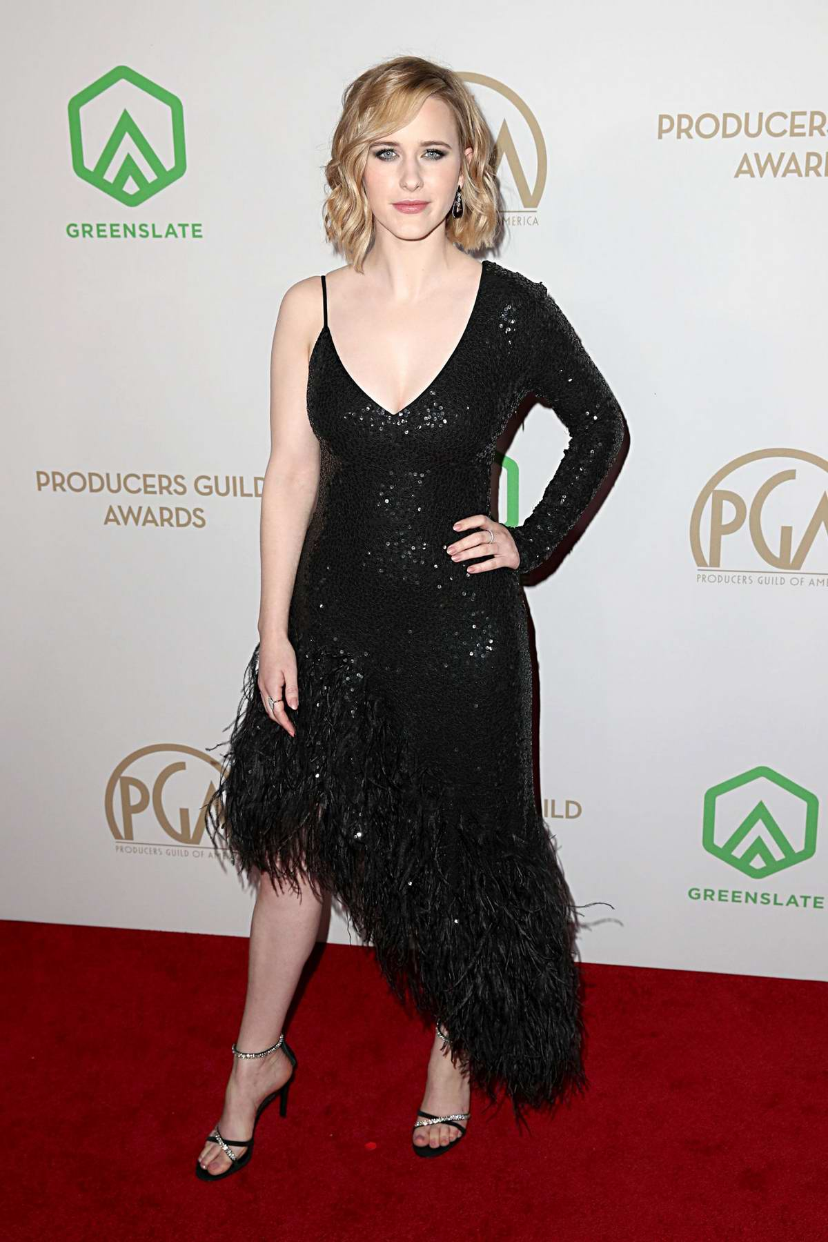 Rachel Brosnahan attends the 31st Annual Producers Guild Awards in Los Angeles