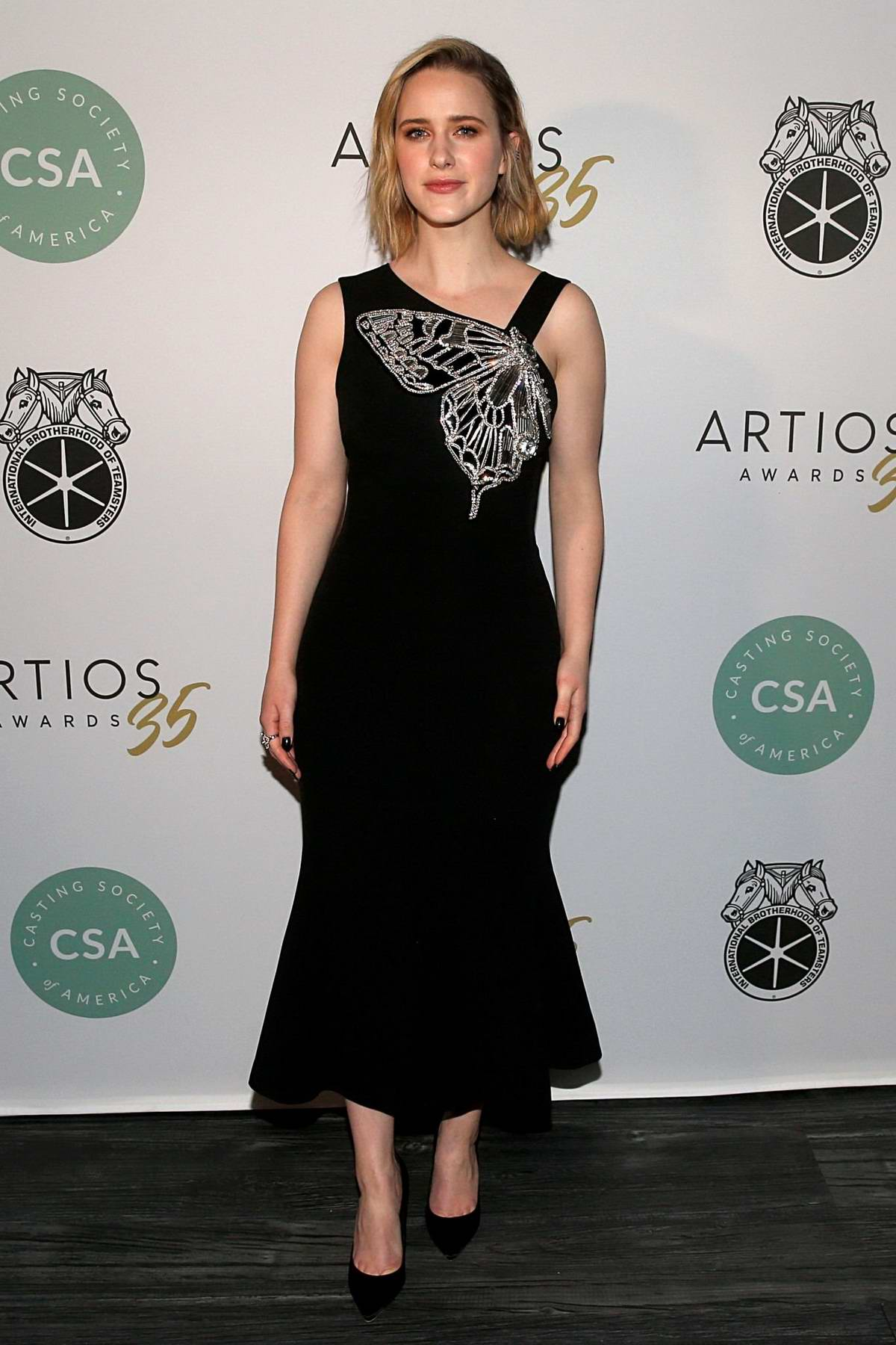 Rachel Brosnahan attends the 35th Annual Artios Awards in New York City