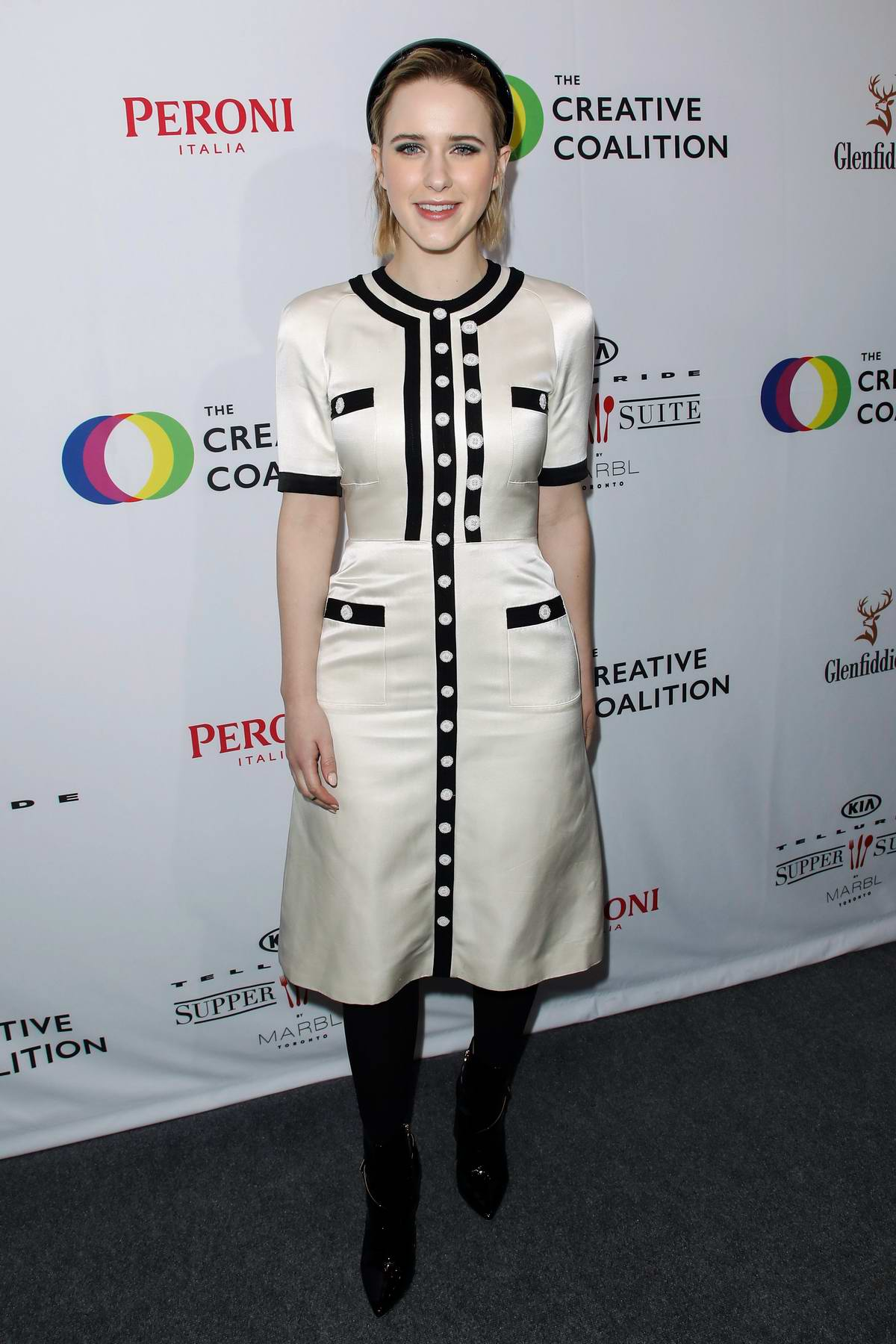 Rachel Brosnahan attends The Creative Coalition's Spotlight Initiative Gala Awards in Park City, Utah
