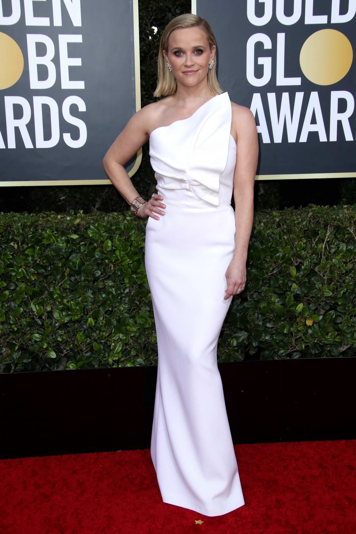 Reese Witherspoon attends the 77th Annual Golden Globe Awards at The Beverly Hilton Hotel in Beverly Hills, California