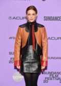 Riley Keough attends the Premiere of 'Zola' during the Sundance Film Festival 2020 in Park City, Utah
