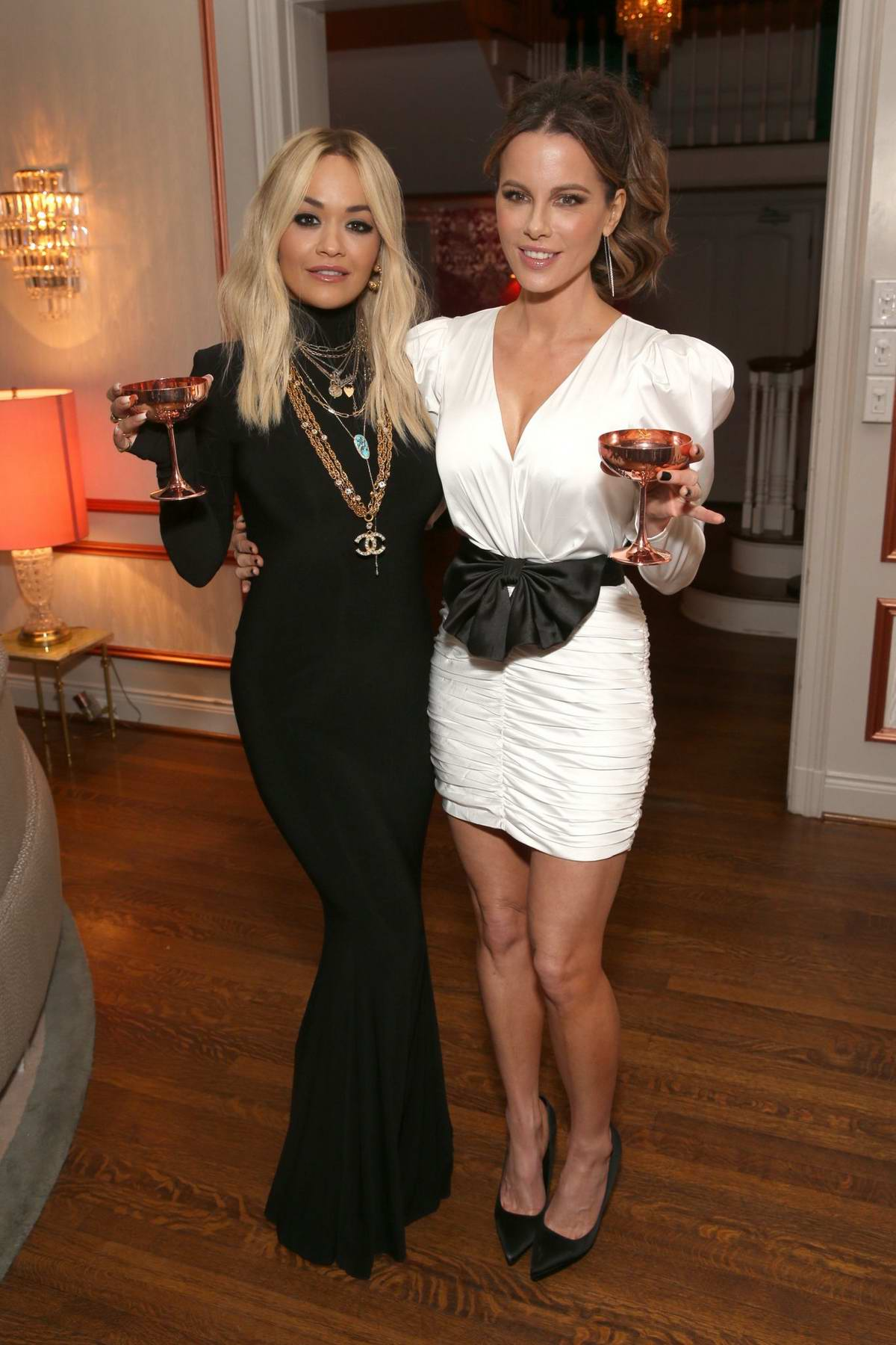 Rita Ora and Kate Beckinsale attend Tings Magazine Private Dinner in Los Angeles, California