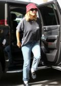 Rita Ora spotted dressed casually as she arrives to her hotel in Miami, Florida