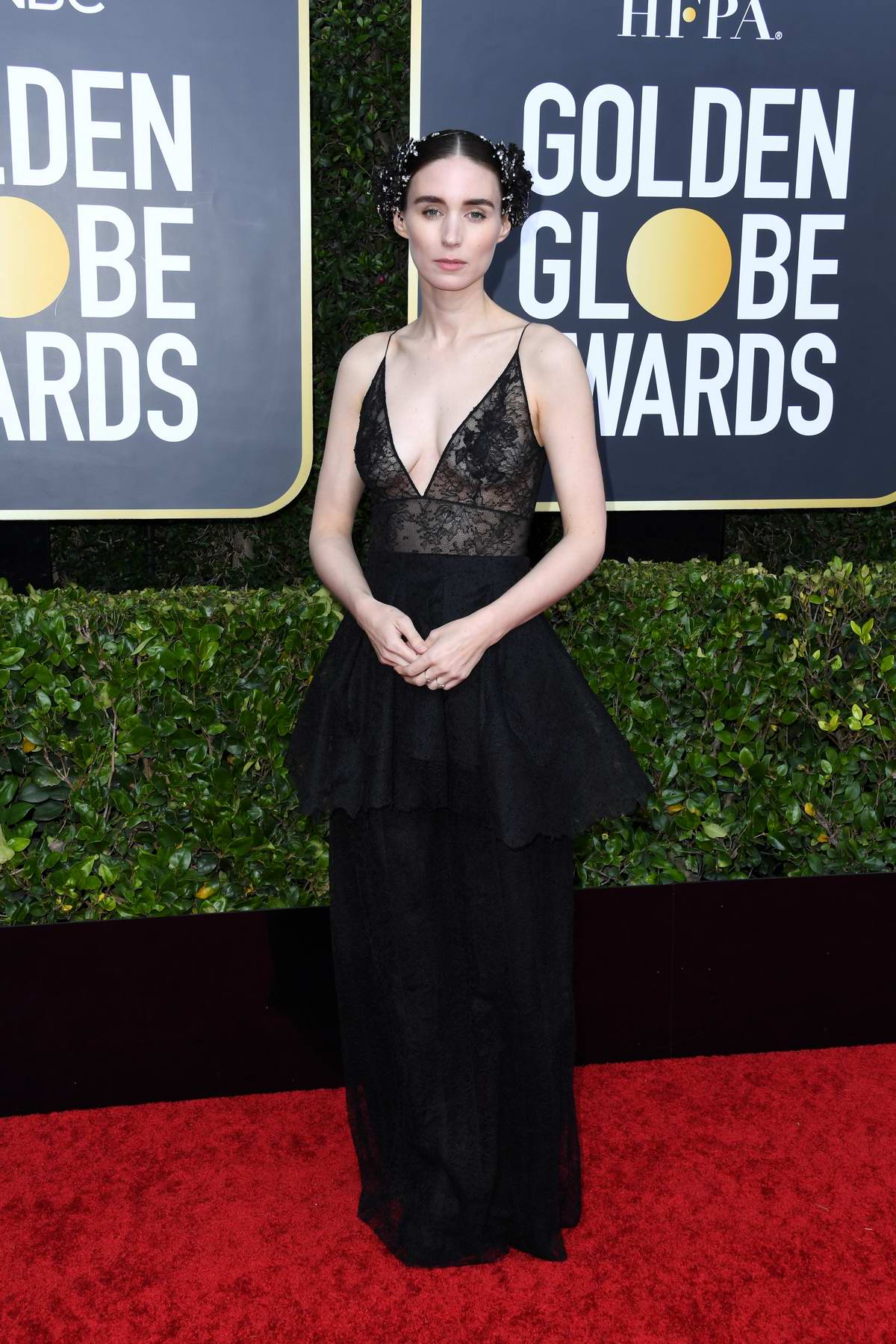Rooney Mara attends the 77th Annual Golden Globe Awards at The Beverly Hilton Hotel in Beverly Hills, California