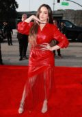 Rosalía attends the 62nd Annual Grammy Awards at Staples Center in Los Angeles