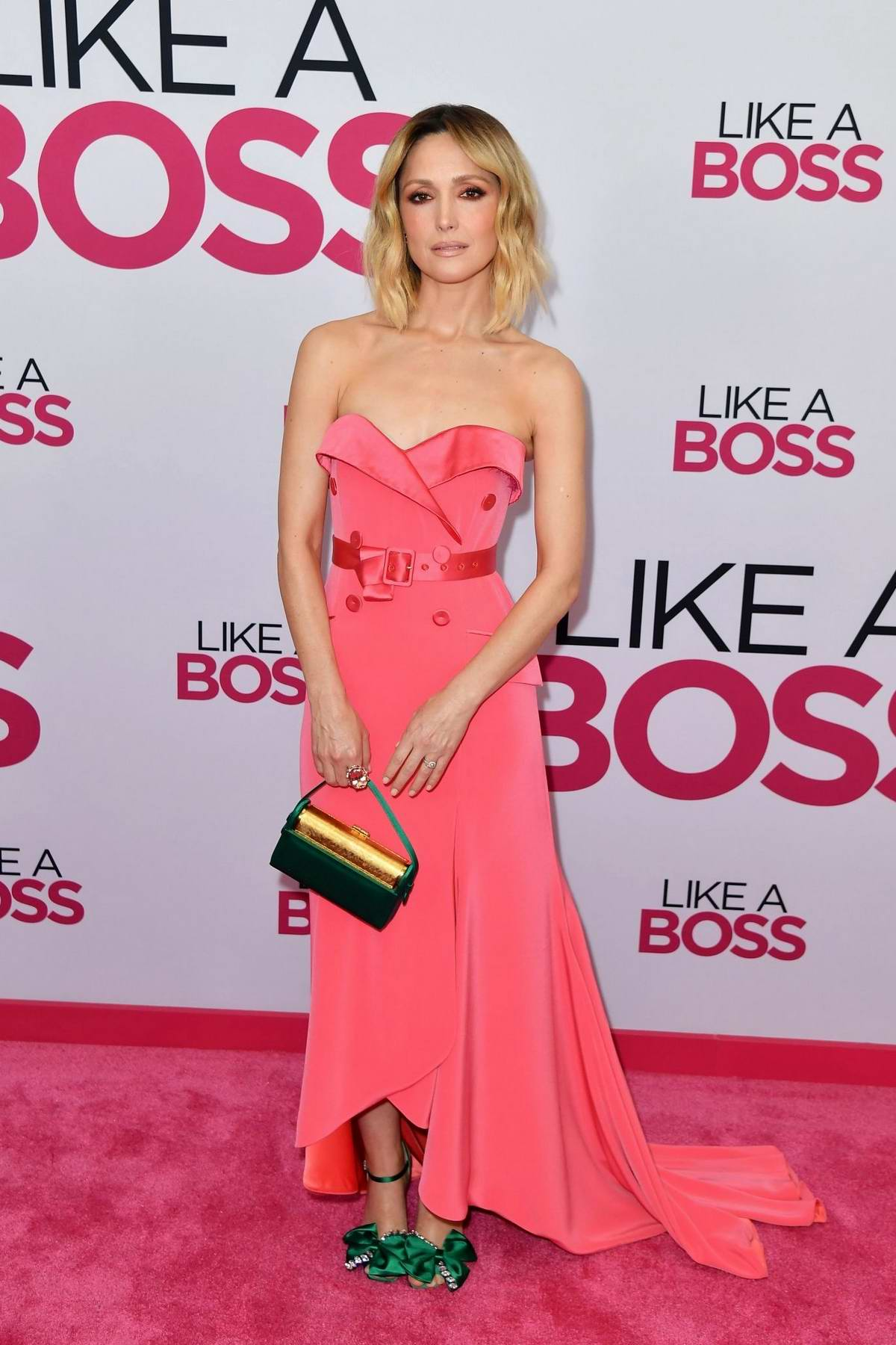 Rose Byrne attends the World Premiere of 'Like A Boss' in New York City