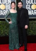 Rose Leslie and Kit Harington attend the 77th Annual Golden Globe Awards at The Beverly Hilton Hotel in Beverly Hills, California