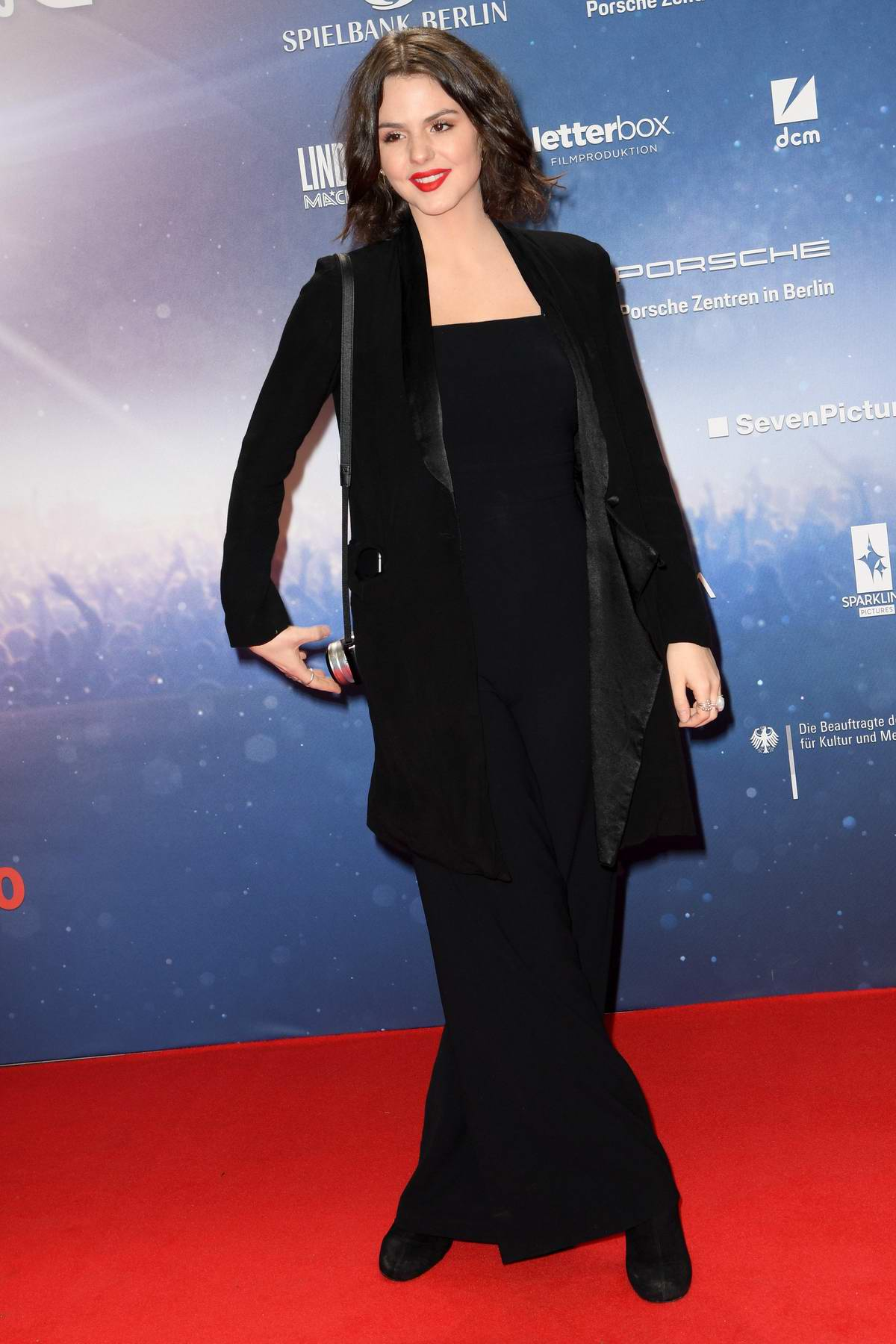 Ruby O Fee attends 'Lindenberg! Mach dein Ding' Premiere in Hamburg, Germany