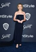 Sabrina Carpenter attends the 21st annual Warner Bros and InStyle Golden Globe After-Party in Beverly Hills, California