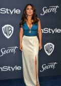 Salma Hayek attends the 21st annual Warner Bros and InStyle Golden Globe After-Party in Beverly Hills, California