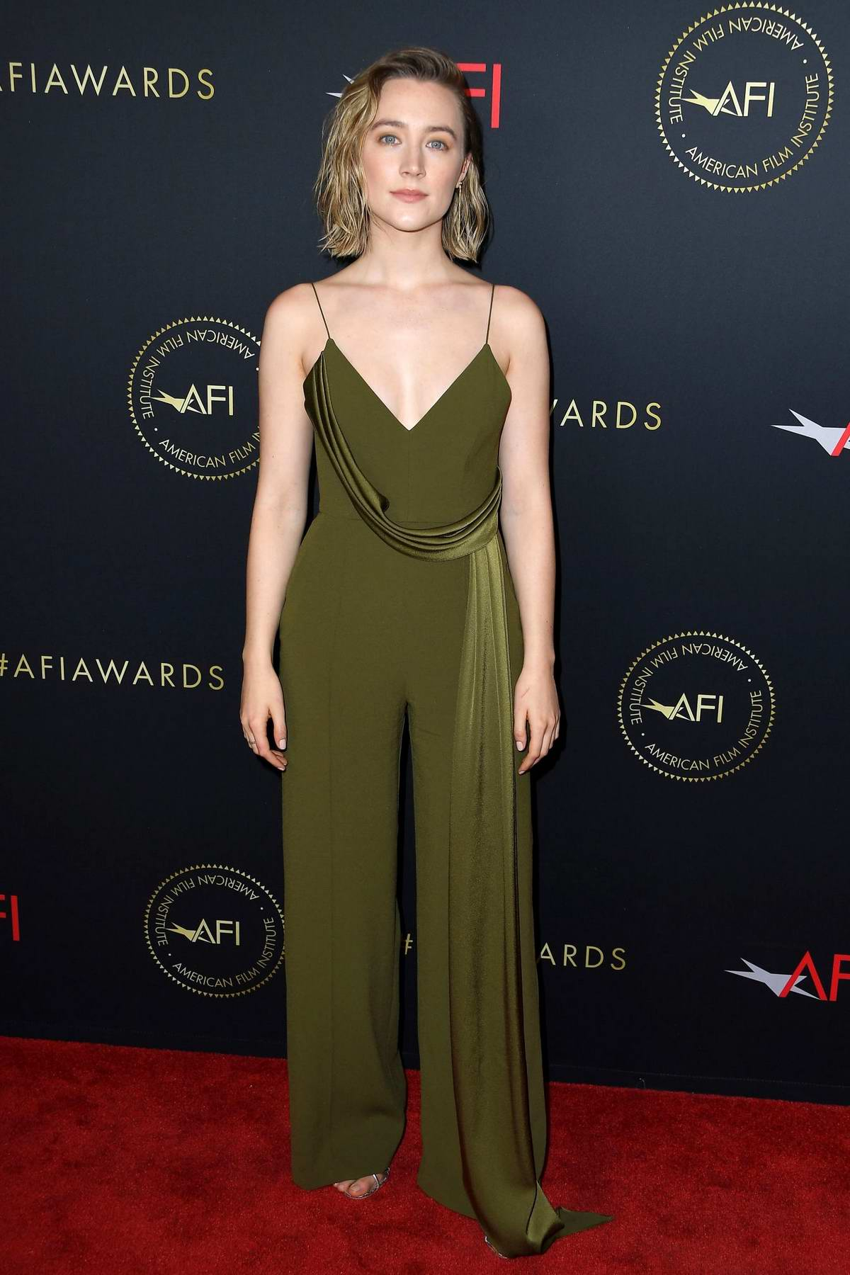 Saoirse Ronan attends the 20th Annual AFI Awards at Four Seasons Hotel Los Angeles in Beverly Hills, California
