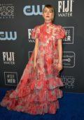 Saoirse Ronan attends the 25th Annual Critics' Choice Awards at Barker Hangar in Santa Monica, California