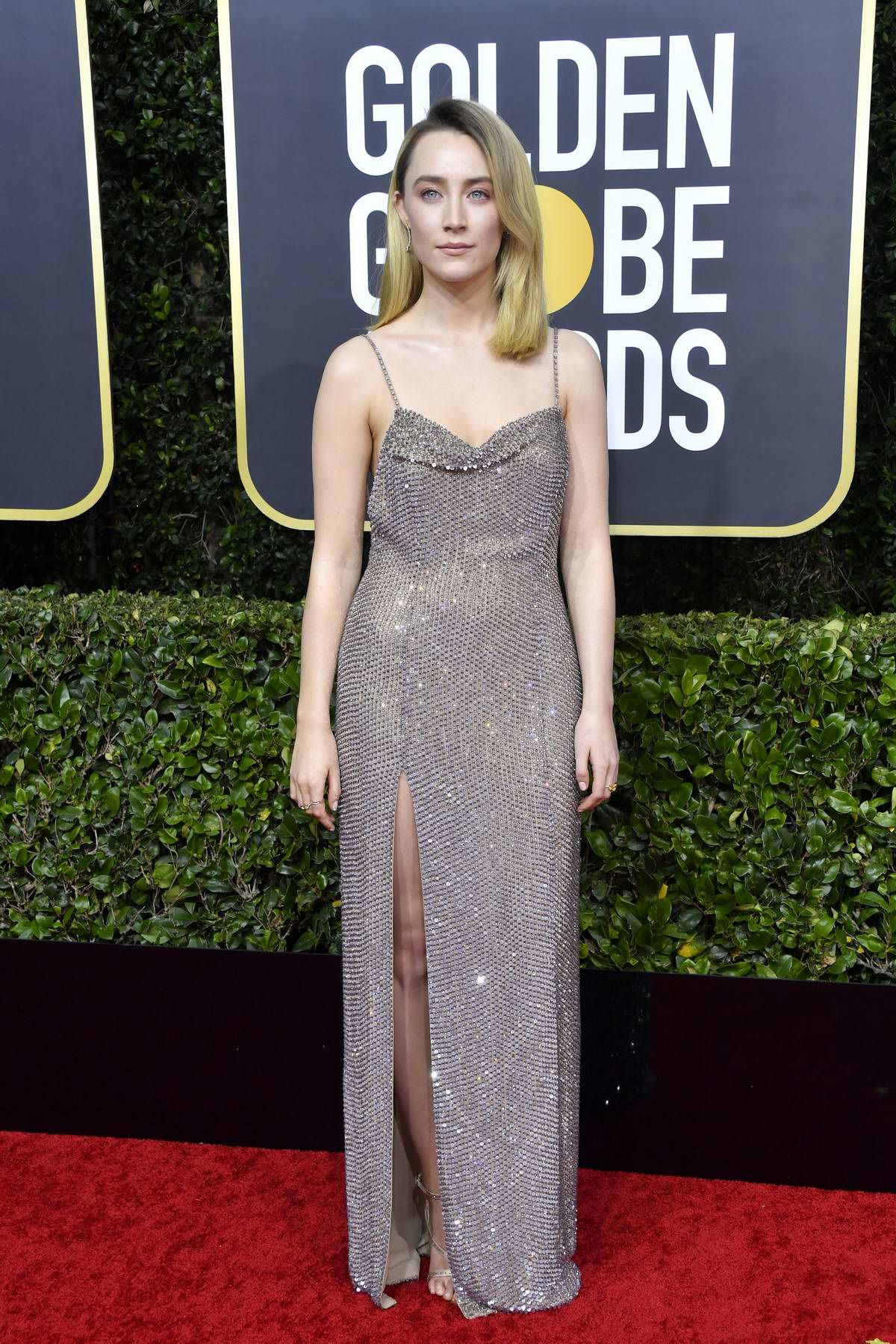 Saoirse Ronan attends the 77th Annual Golden Globe Awards at The Beverly Hilton Hotel in Beverly Hills, California