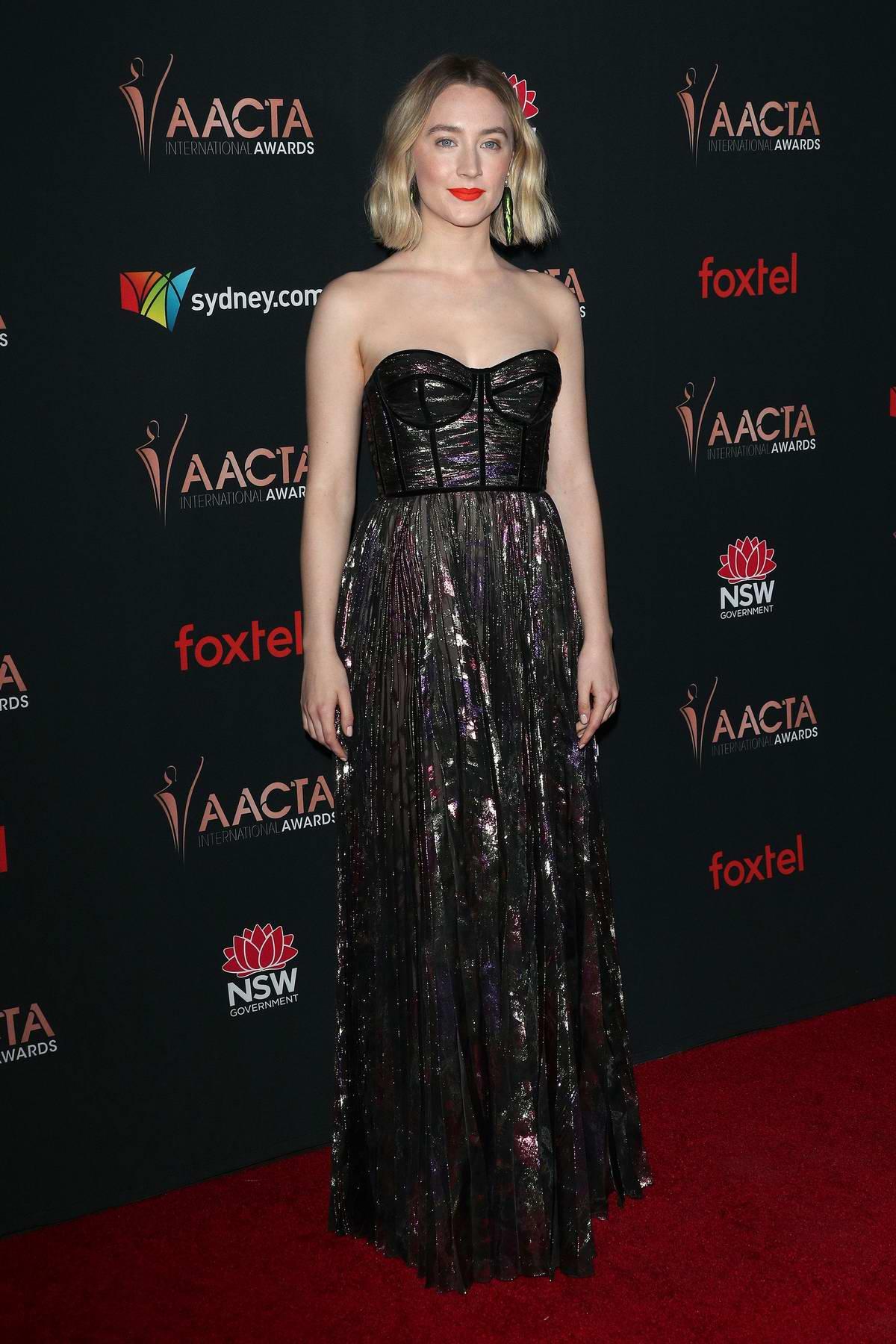 Saoirse Ronan attends the 9th Annual AACTA International Awards at the Mondrian Los Angeles