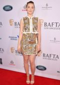 Saoirse Ronan attends the BAFTA Los Angeles Tea Party 2020 at Four Seasons Hotel in Beverly Hills, California