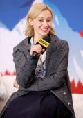 Sarah Gadon visits the IMDb Studio at Acura Festival Village during the 2020 Sundance Film Festival in Park City, Utah