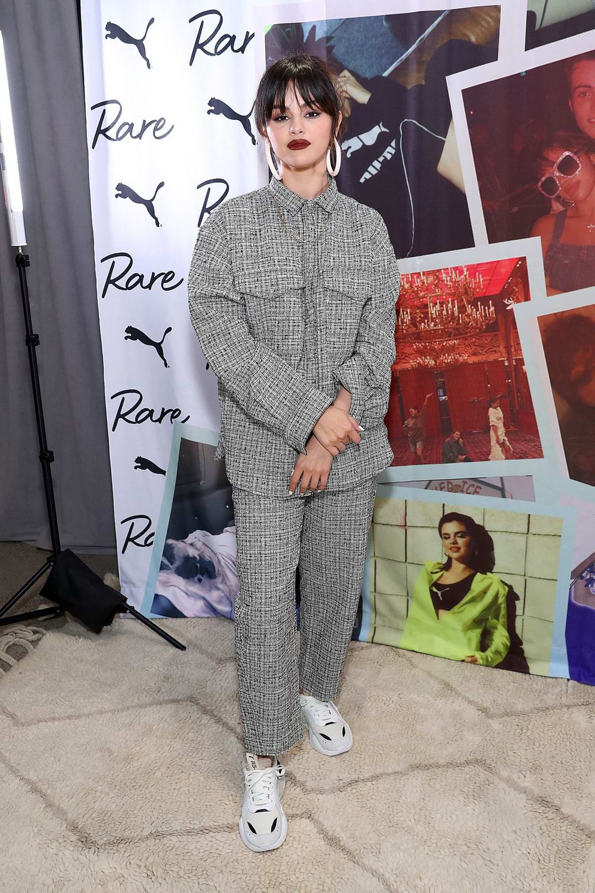 Selena Gomez attends a Fan Meet and Greet at the Puma flagship store in New York City