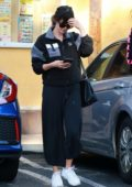 Selena Gomez grabs some Japanese food while out with friends in Van Nuys, California