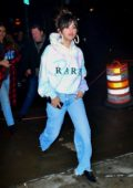 Selena Gomez rocks her new album 'Rare' hoodie as she heads to Bang Bang Tattoo Parlor in New York City