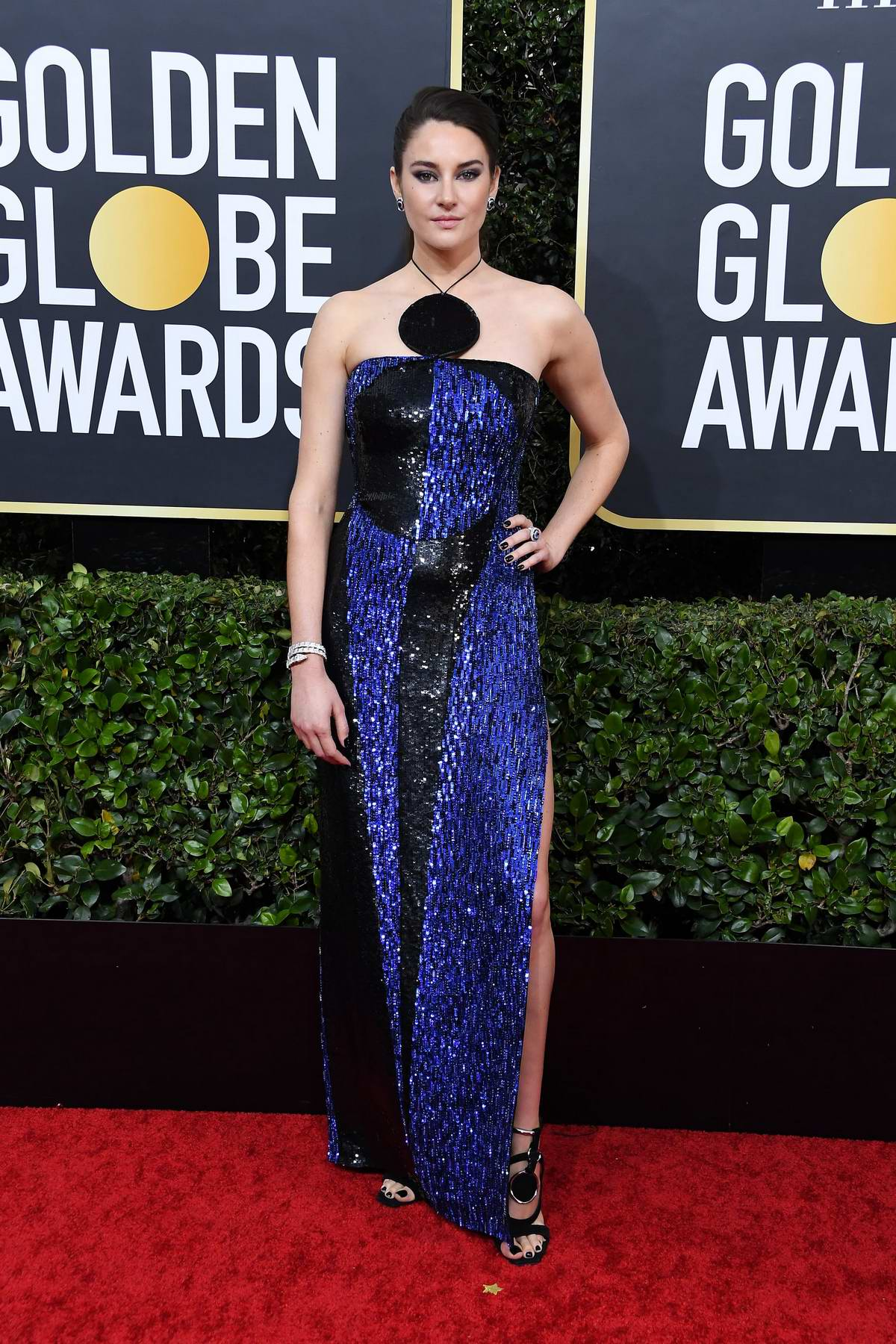 Shailene Woodley attends the 77th Annual Golden Globe Awards at The Beverly Hilton Hotel in Beverly Hills, California