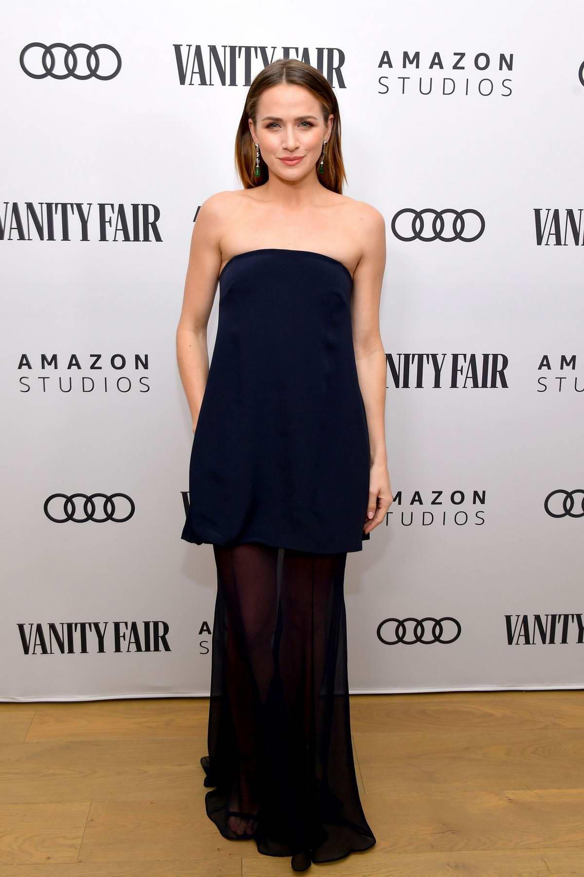Shantel VanSanten attends The Vanity Fair x Amazon Studios 2020 Awards Season Celebration in West Hollywood, California