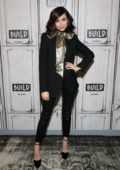 Sofia Carson visits Build Series in New York City