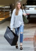 Sofia Vergara is all smiles after some shopping at Dolce & Gabbana in Beverly Hills, California