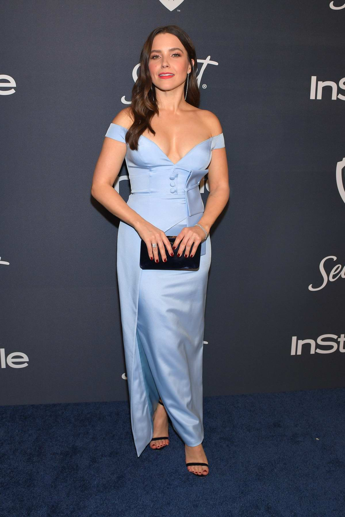 Sophia Bush attends the 21st annual Warner Bros and InStyle Golden Globe After-Party in Beverly Hills, California
