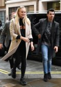 Sophie Turner and Joe Jonas seen as they step out in London, UK
