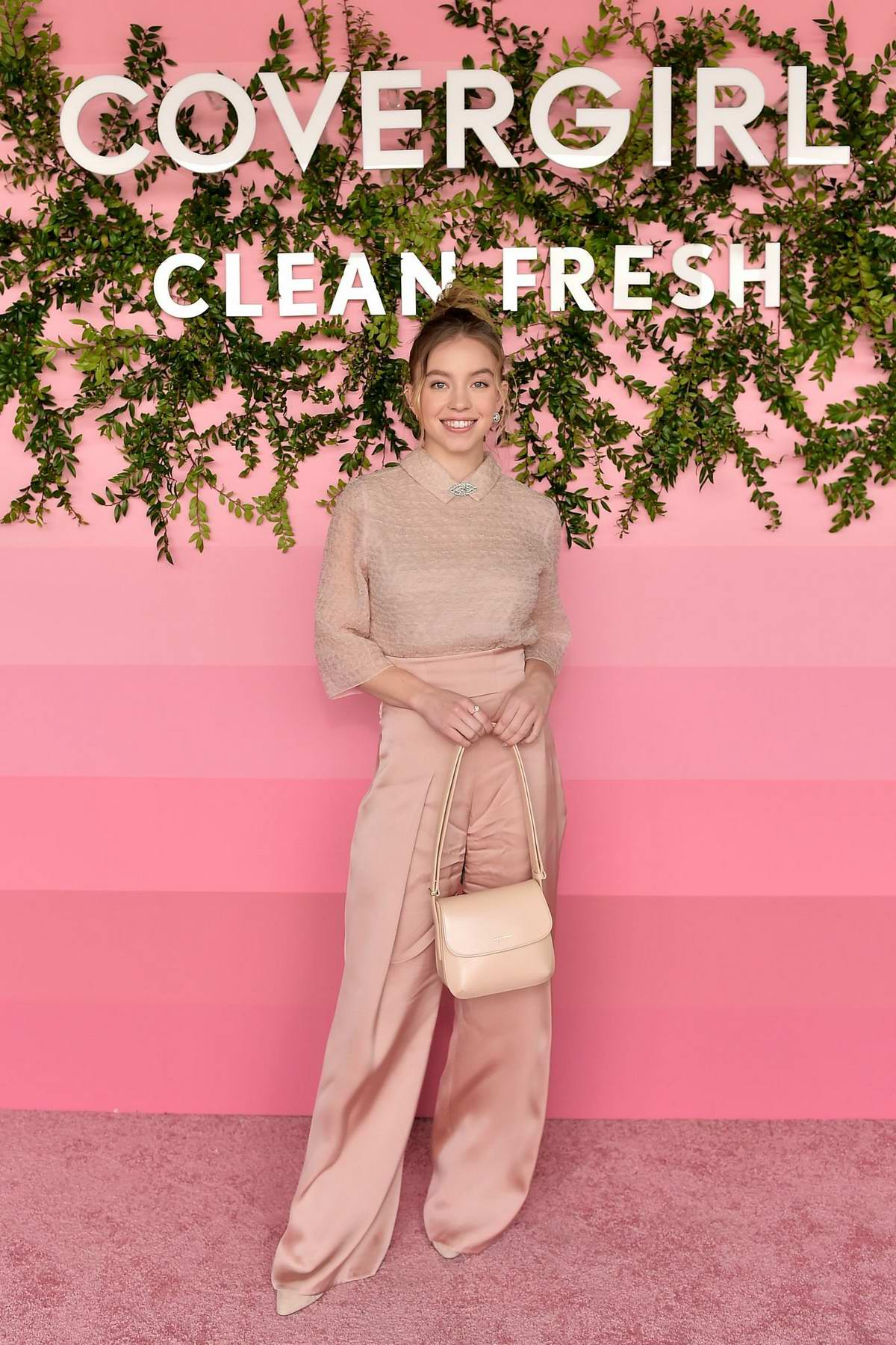 Sydney Sweeney attends Covergirl Clean Fresh Launch Party in Los Angeles