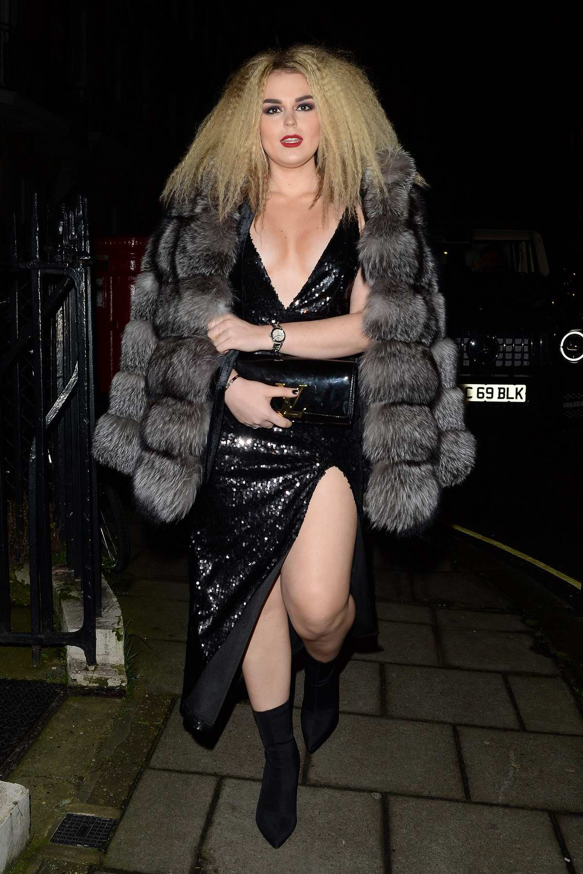 Tallia Storm attends Tom Ford Fragrance Launch at Marks Club Mayfair in London, UK