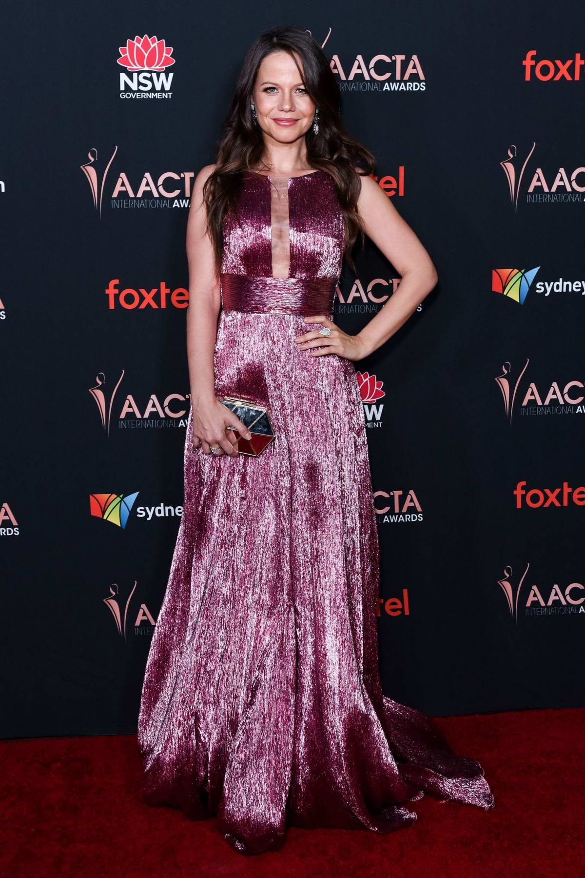 Tammin Sursok attends the 9th Annual AACTA International Awards at the Mondrian Los Angeles