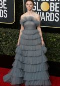 Thomasin McKenzie attends the 77th Annual Golden Globe Awards at The Beverly Hilton Hotel in Beverly Hills, California