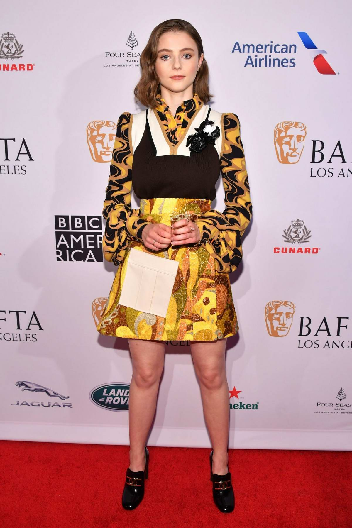 Thomasin McKenzie attends the BAFTA Los Angeles Tea Party 2020 at Four Seasons Hotel in Beverly Hills, California