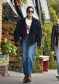 Vanessa Hudgens steps out for breakfast with a friend at All Times in Los Feliz, California