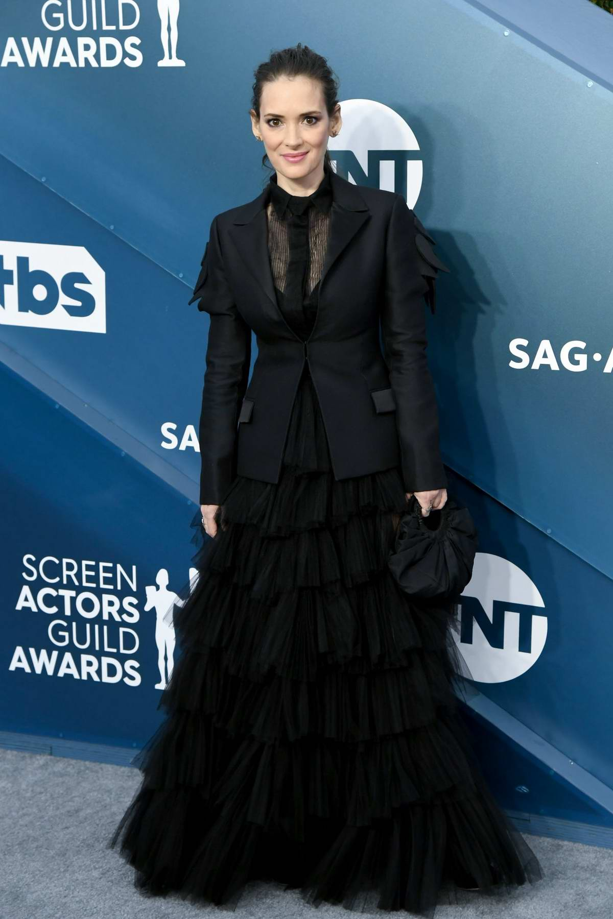 Winona Ryder attends the 26th Annual Screen Actors Guild Awards at the Shrine Auditorium in Los Angeles